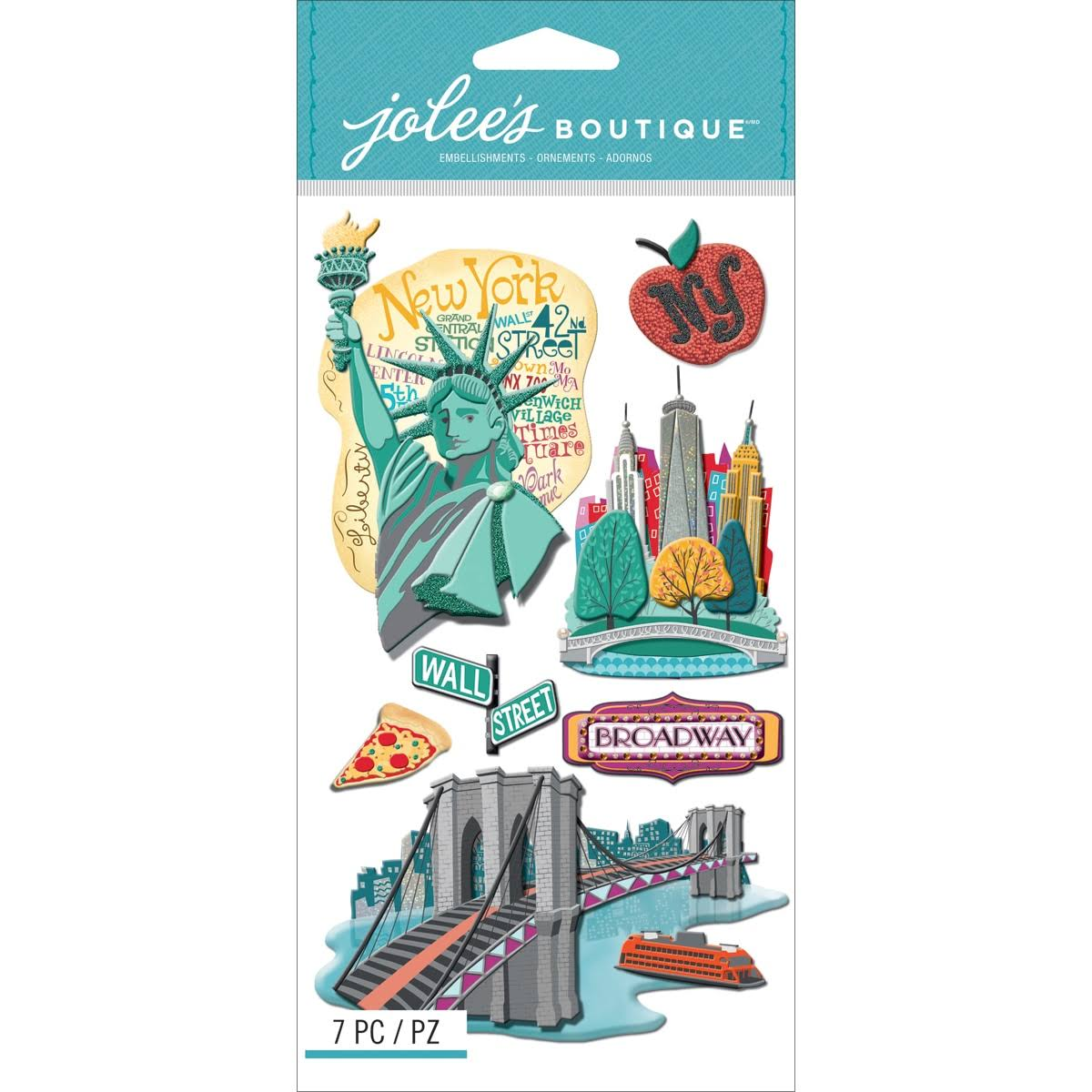 Jolee's Boutique Dimensional Stickers (New York)