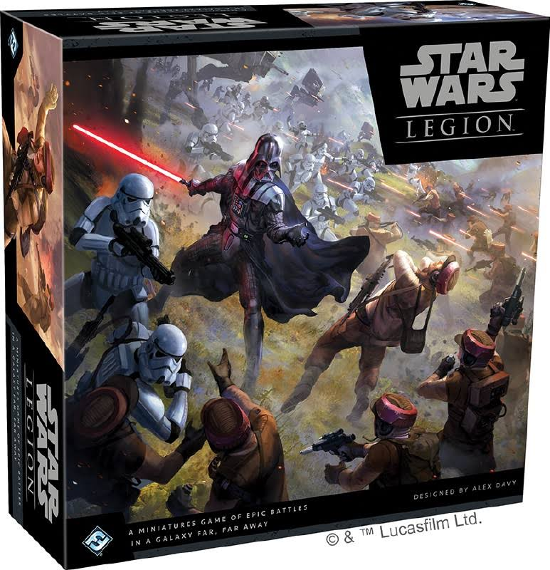 Star Wars Legion Miniatures Game Core Set