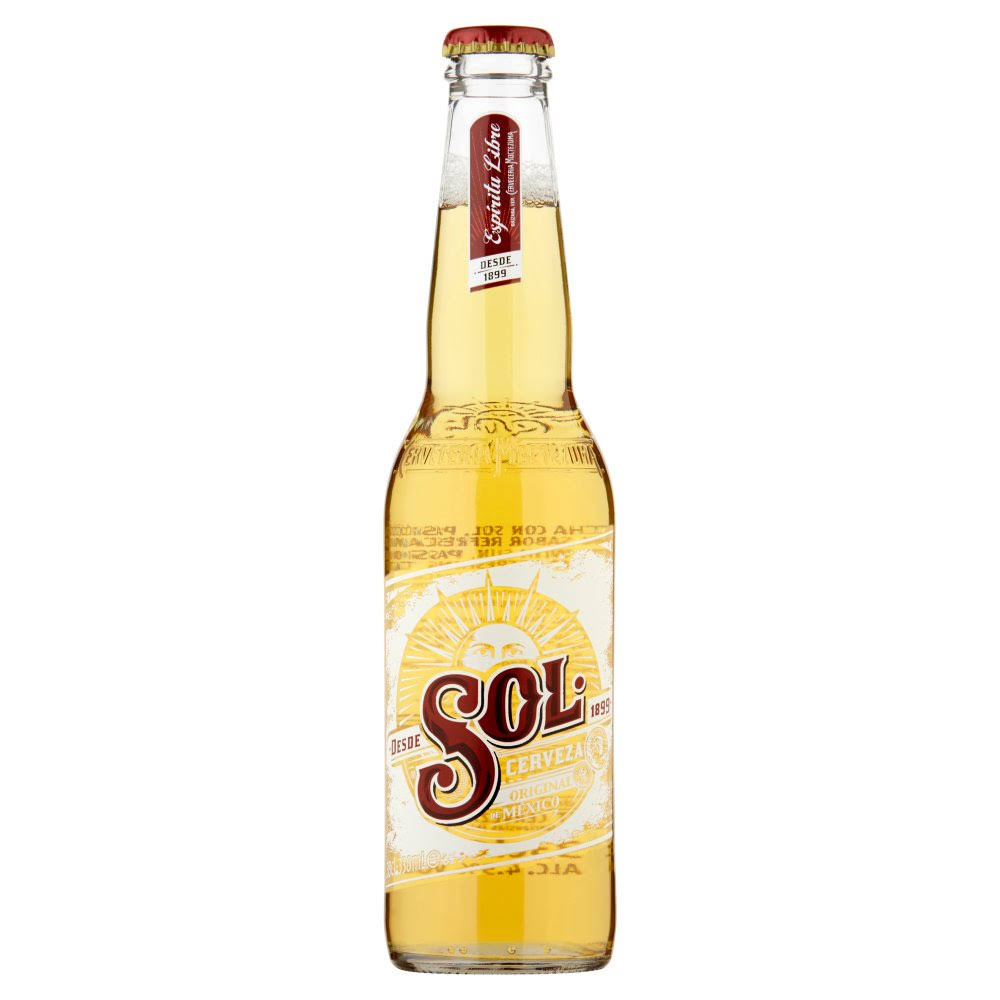Sol Original Lager Beer - 330ml