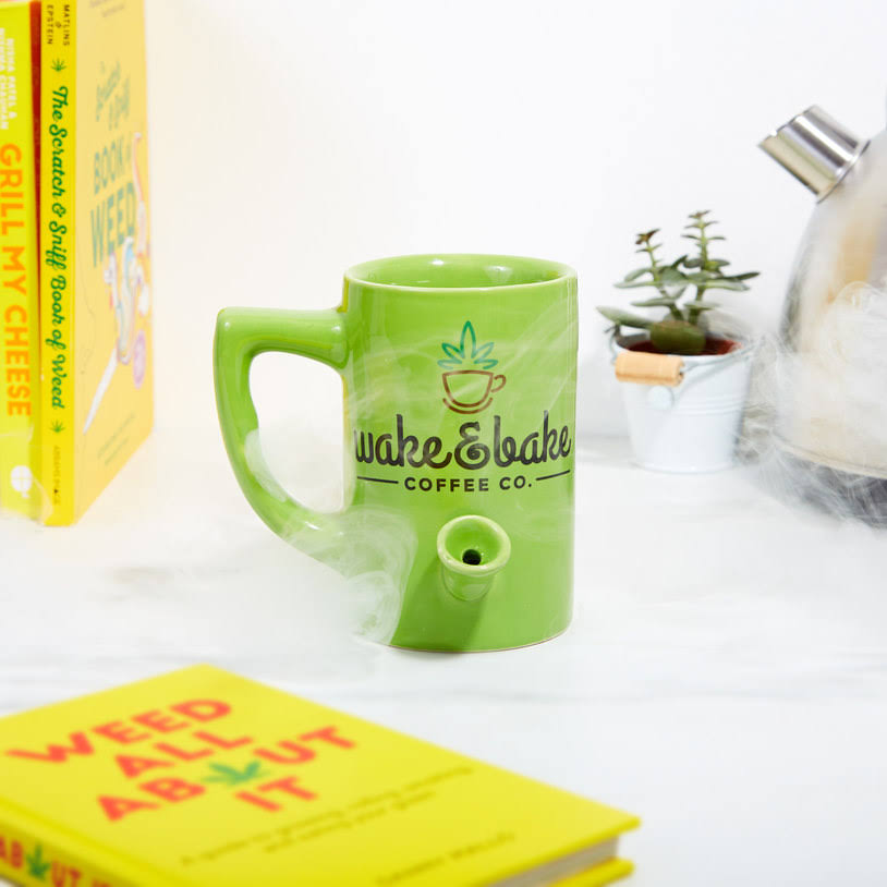 Wake & Bake Pipe Coffee Mug