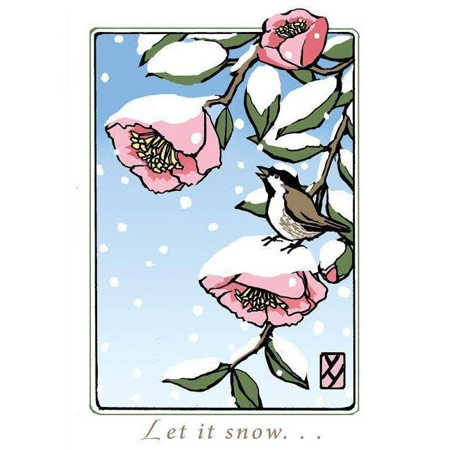 Let It Snow (Boxed): 6 Individual Cards - Bruce Smith