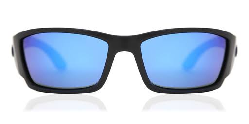Costa Del Mar Corbina Blackout Sunglasses - Black/Blue Lens