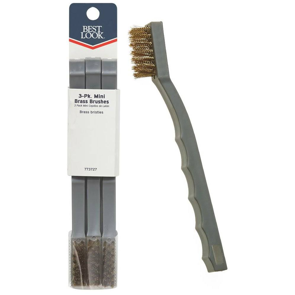 Best Look Brass Bristle Mini Brush 504-B