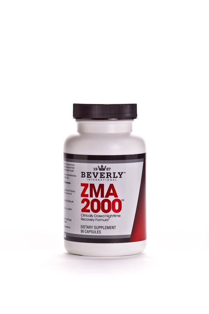 Beverly International ZMA 2000 Dietary Supplement - 90ct