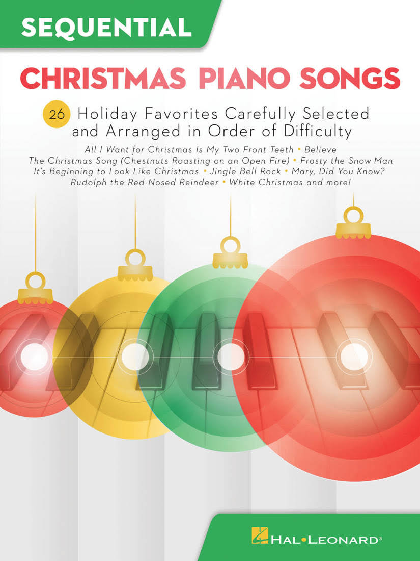 Sequential Christmas Piano Songs - Hal Leonard