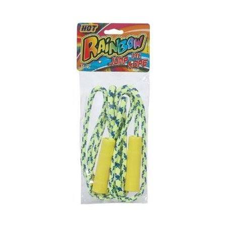DDI 1186389 Rainbow Jump Rope 7 ft AST