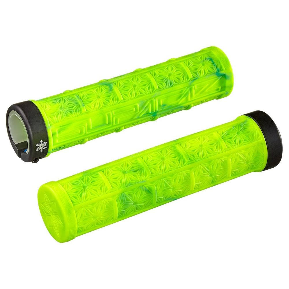 Supacaz Grizips Splash Grips - Neon Yellow