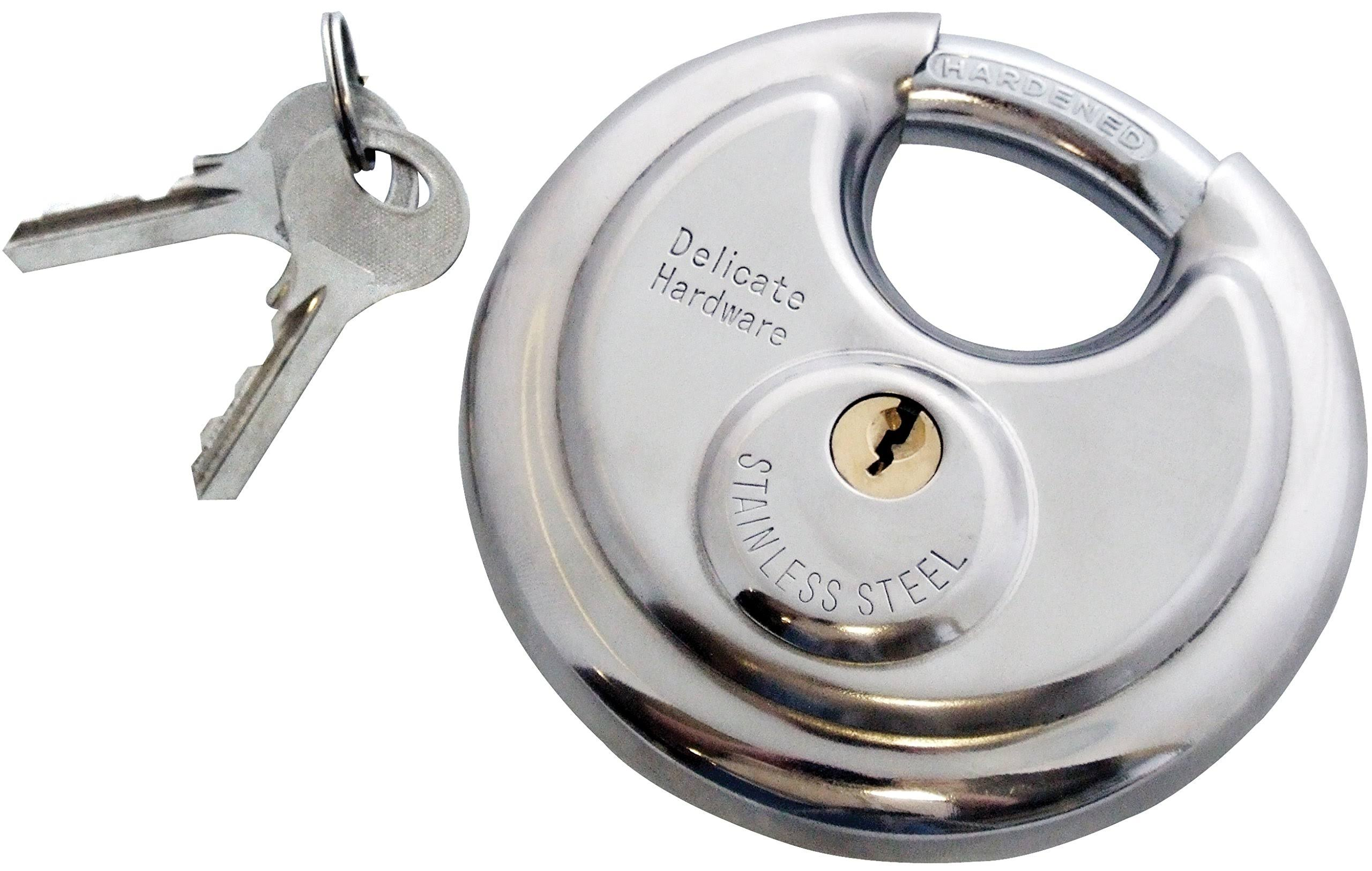 Am-Tech Disc Padlock - 90mm