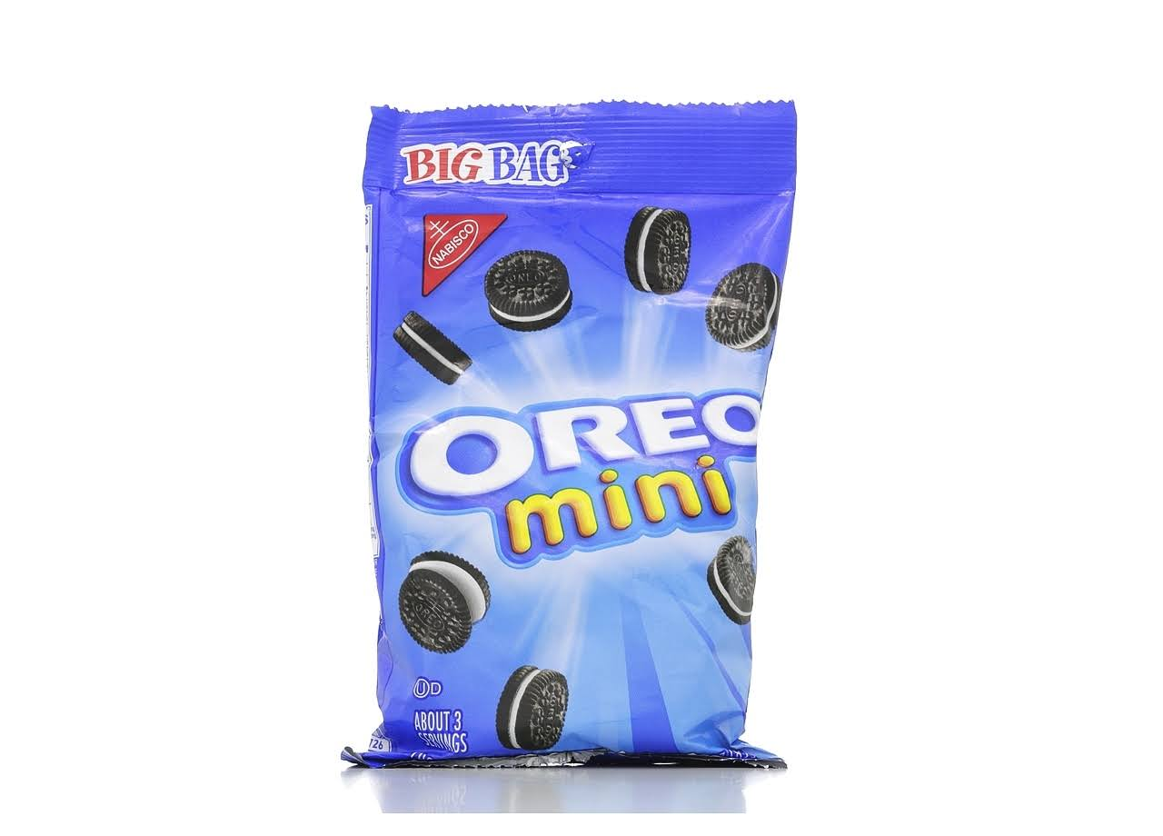 Nabisco Mini Oreo Chocolate Sandwich Cookies - 85g