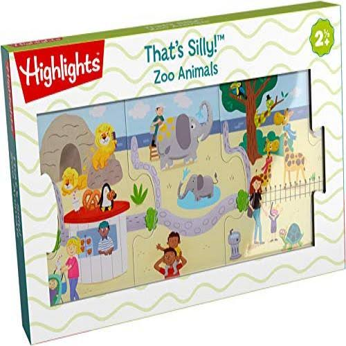 Highlights That's Silly Zoo Animals