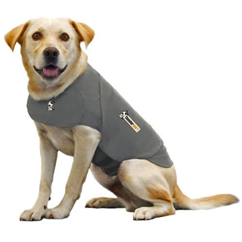 Thundershirt Dog Anxiety Treatment Wrap - Heather Grey, Large