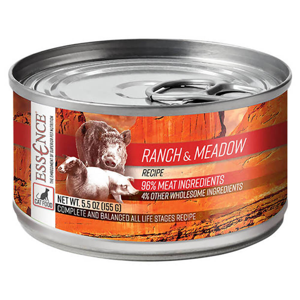Essence Cat Ranch & Meadow Grain-Free Wet Food 5.5oz Can