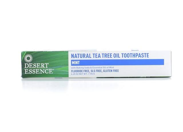 Desert Essence Natural Tea Tree Oil Toothpaste - Mint
