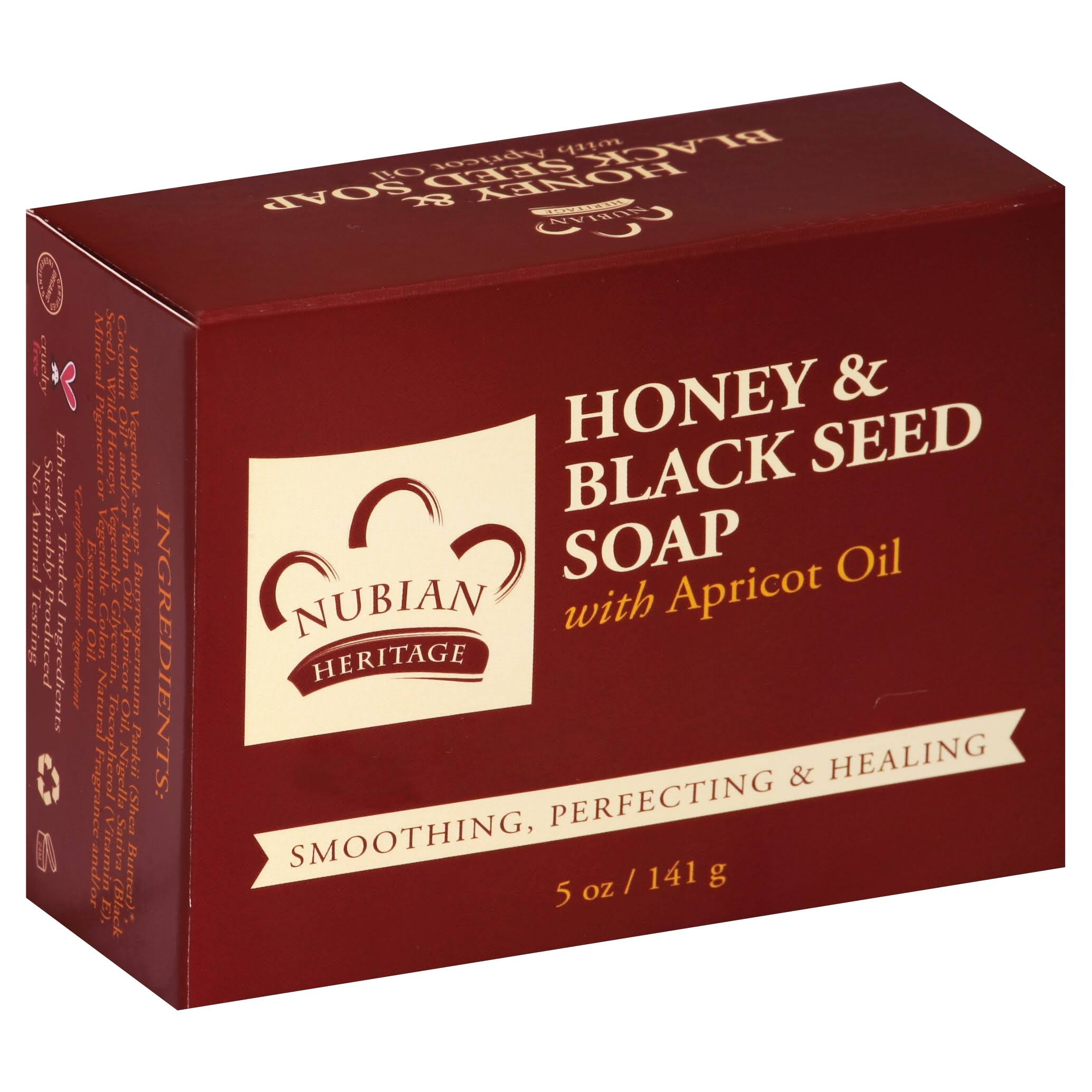 Nubian Heritage Honey & Black Seed Soap
