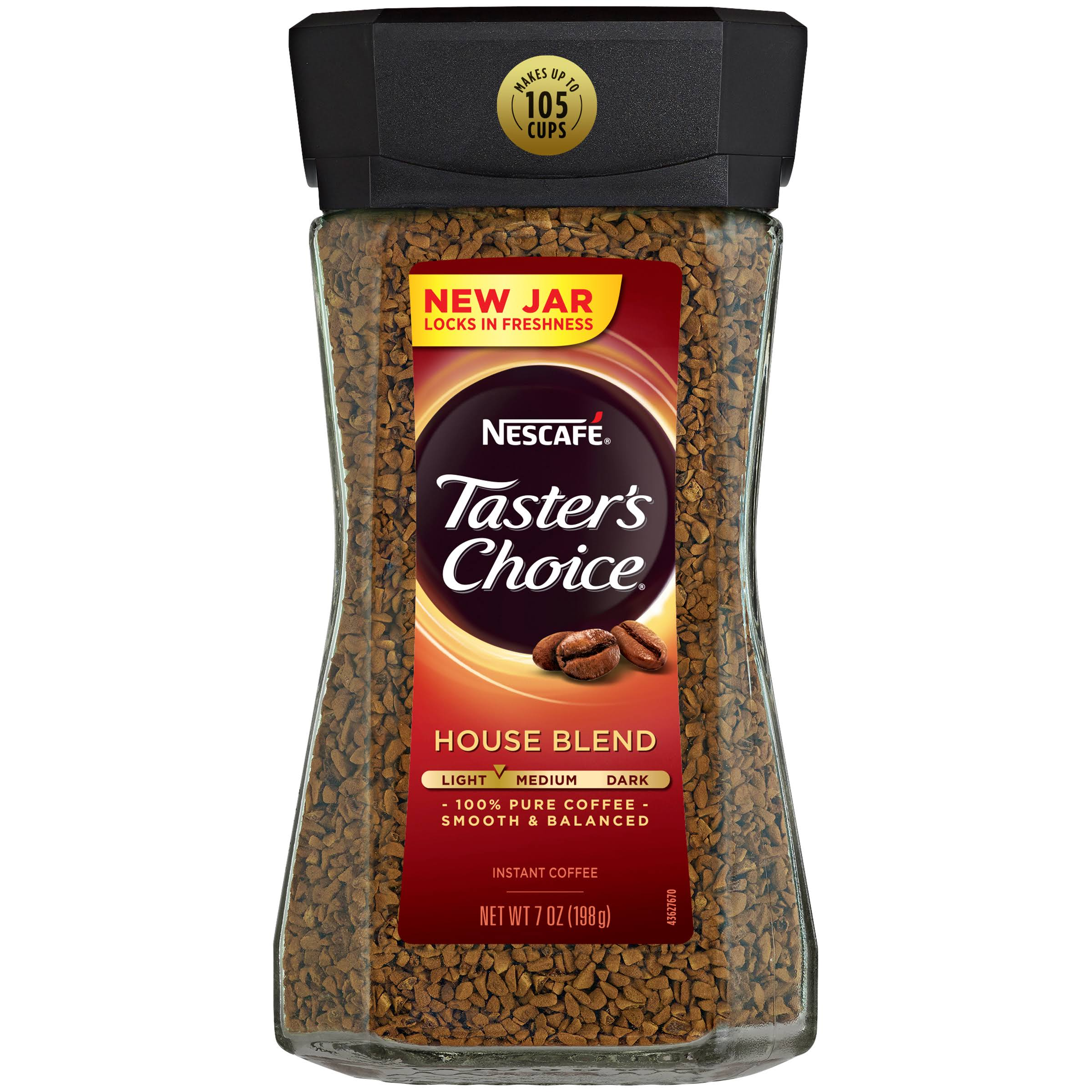 Nescafé Taster's Choice House Blend Instant Coffee - 198g
