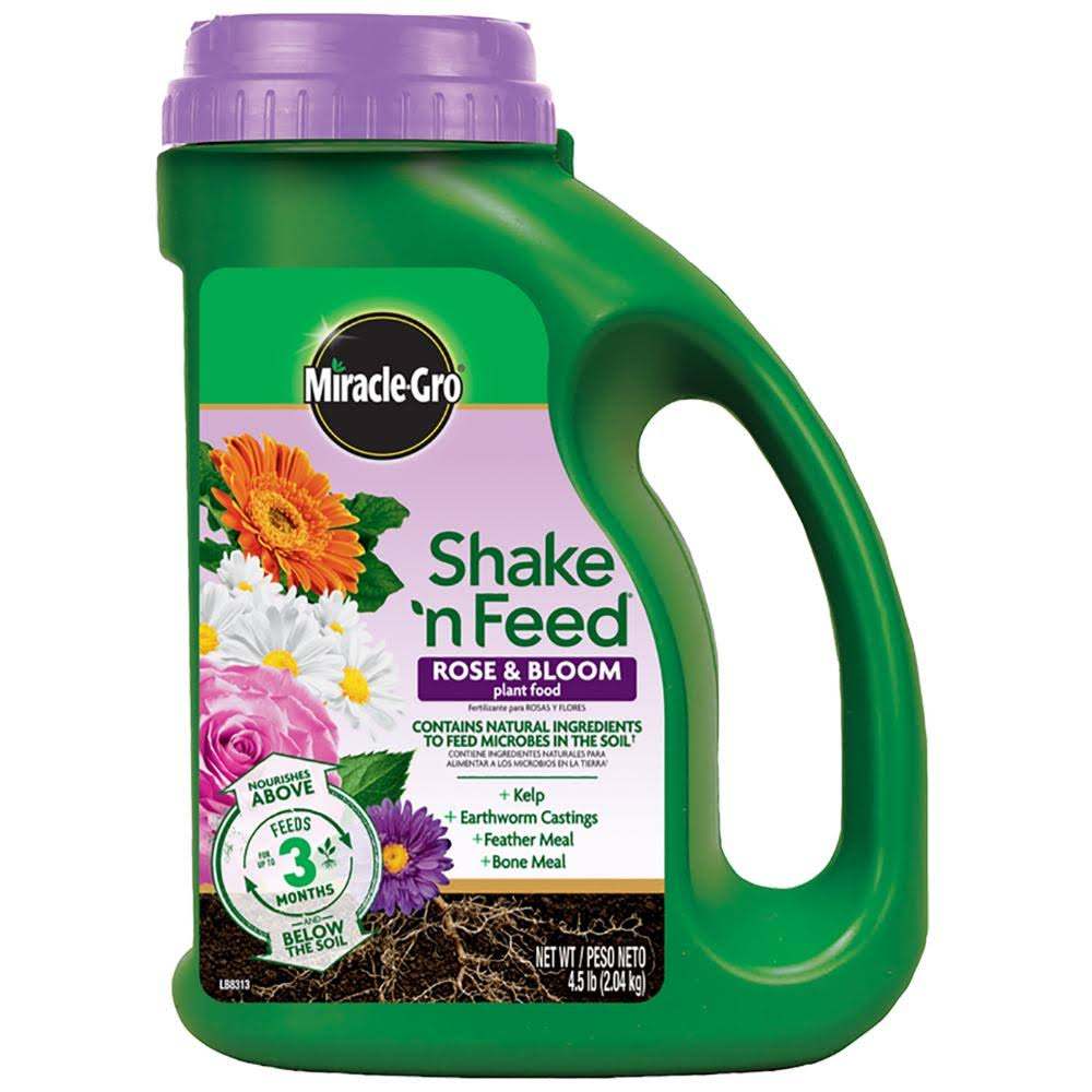 Miracle-Gro Shake N' Feed Bloom Booster Dry Plant Food - 4.5lb