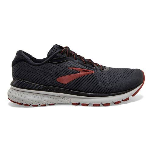 Brooks Adrenaline GTS 20 (Black/Ebony/Ketchup) Men's Running Shoes