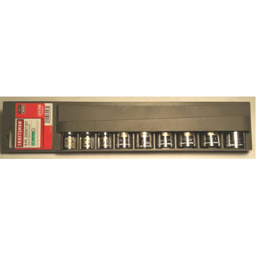"Craftsman Socket Sets, 1/2"" - 9 count"