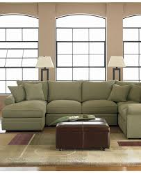 Chateau Dax Leather Sofa Macys by Doss Fabric Microfiber Sectional Sofa 4 Piece Left Arm Facing