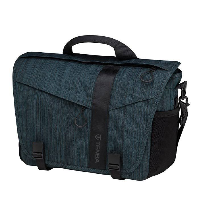 "Tenba Dna 11 Messenger Bag - Holds DSLR Camera With 2-3 Lenses, And Ipad, Tablet / Laptop Up To 11"", Cobalt"