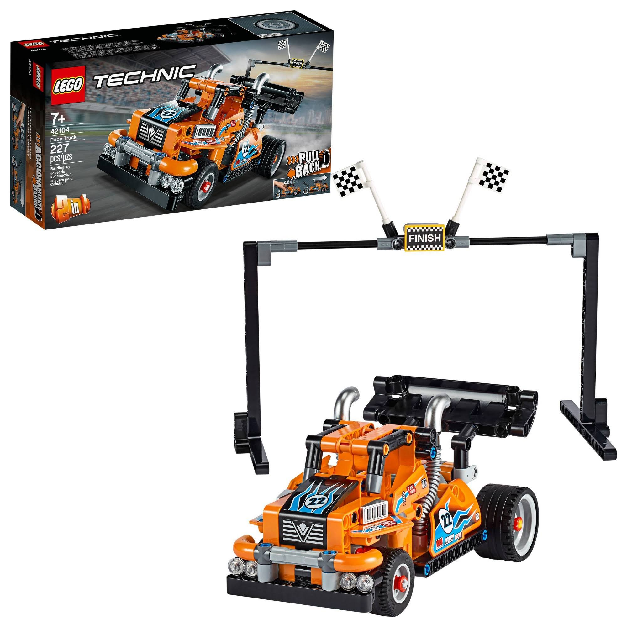 Lego Technic Race Truck 42104 Building Kit