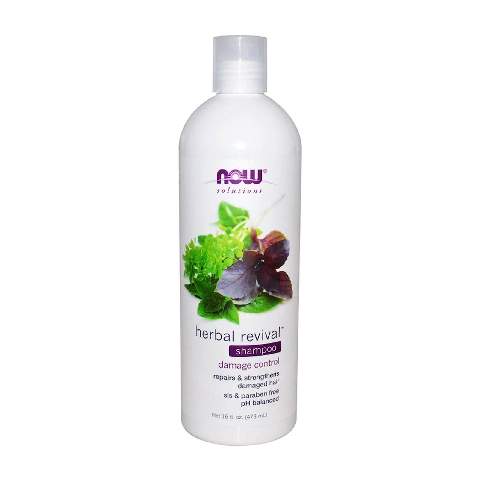 Now Foods Solutions Herbal Revival Shampoo - 16oz