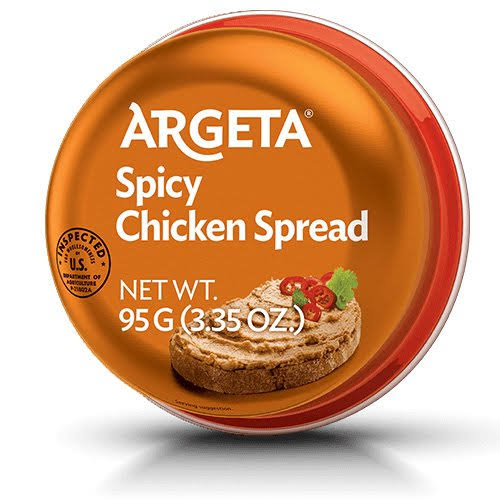 Argeta Pate Spread Spicy Chicken 3.35oz