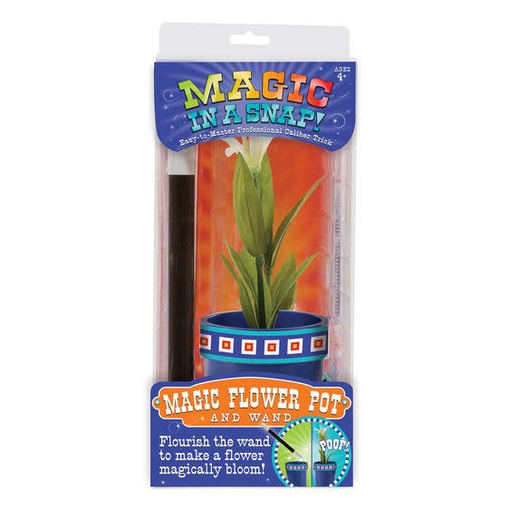 Melissa and Doug Magic in a Snap Magic Flower Pot Pretend Play Toy