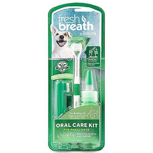 Fresh Breath Advanced Whitening Oral Care Kit for Dogs