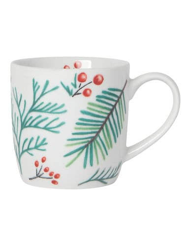 Now Designs Mug White Bough & Berry Mug One-Size