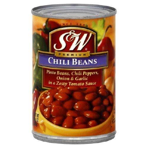 S and W Premium Chili Beans - 15.5oz