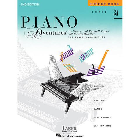 Piano Adventures: Theory Book Level 3A - Nancy Faber