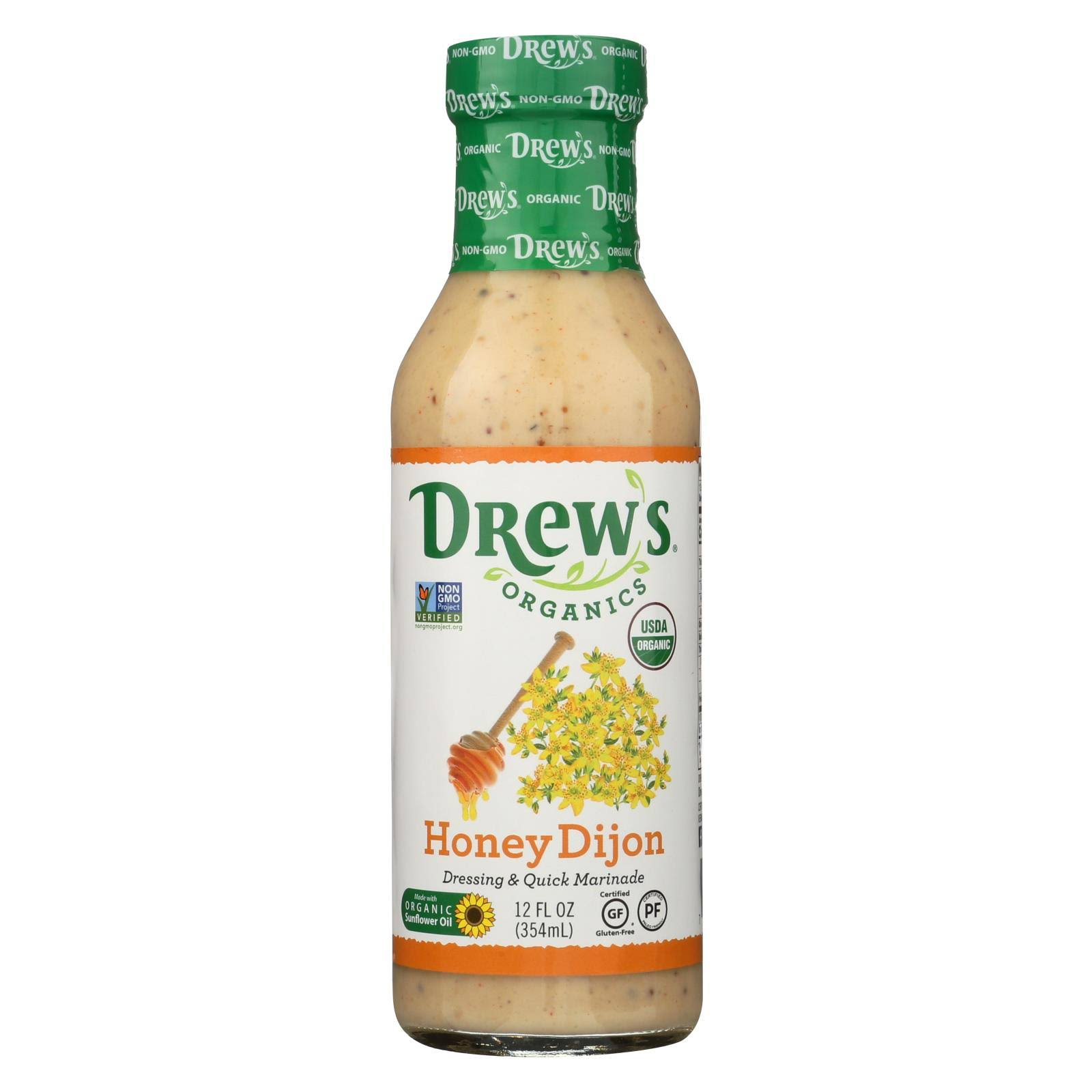 Drew's Organics - Salad Dressing - Honey Dijon - 12 oz.
