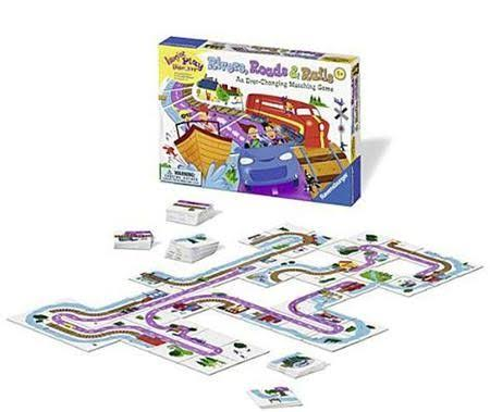Imagine Play Discover Rivers Roads & Rails Game