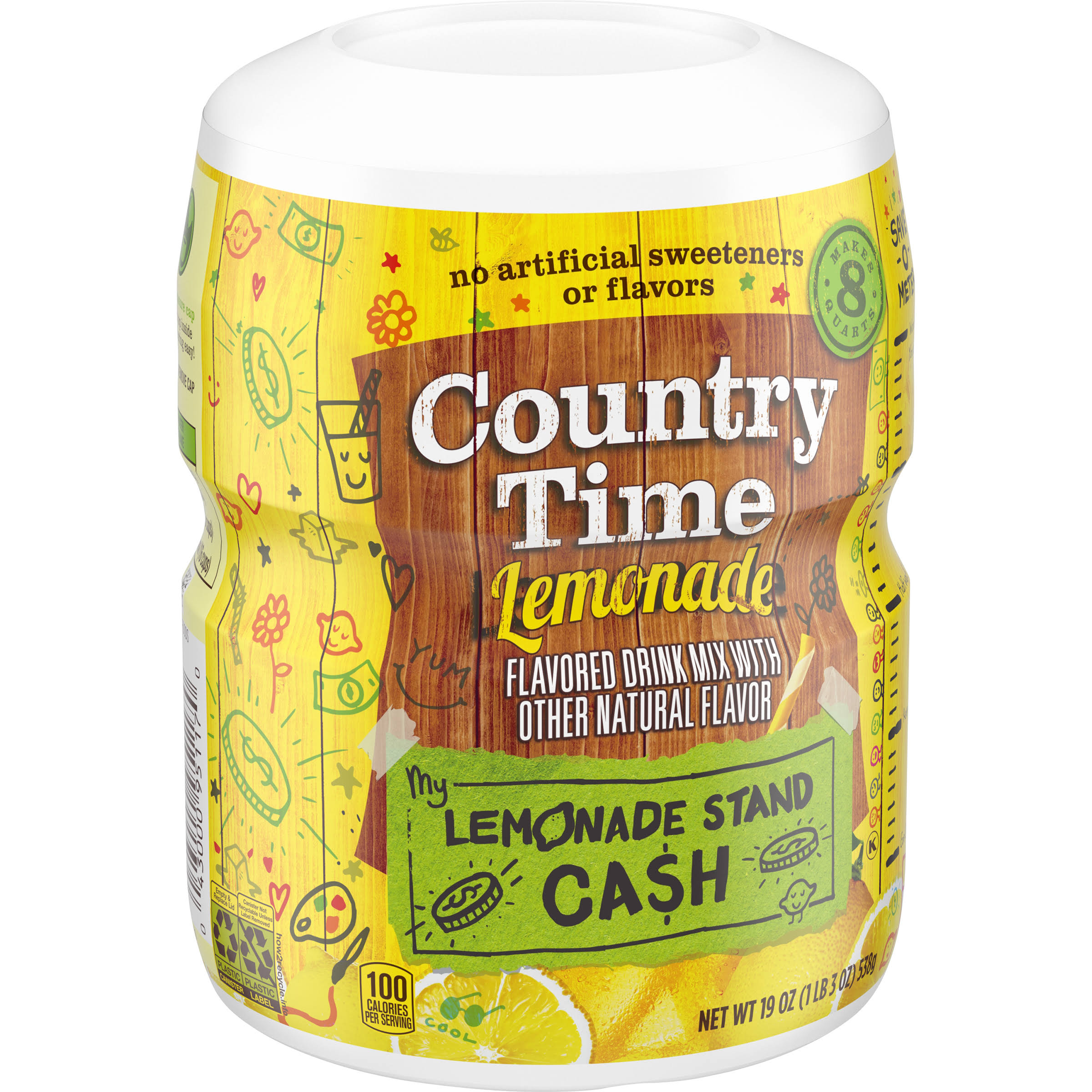 Country Time Drink Mix - Lemonade, 19oz