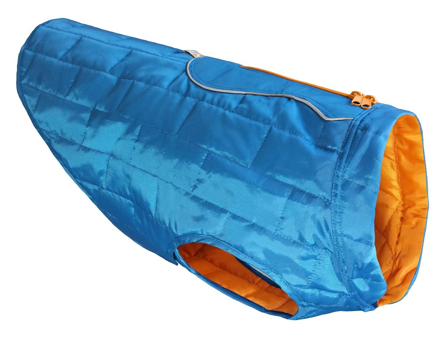 Kurgo Loft Waterproof Dog Jacket - Blue, Large