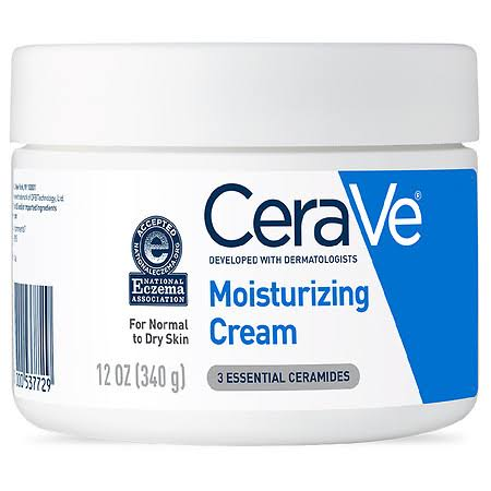 CeraVe Moisturizing Cream - Fragrance Free, 12oz