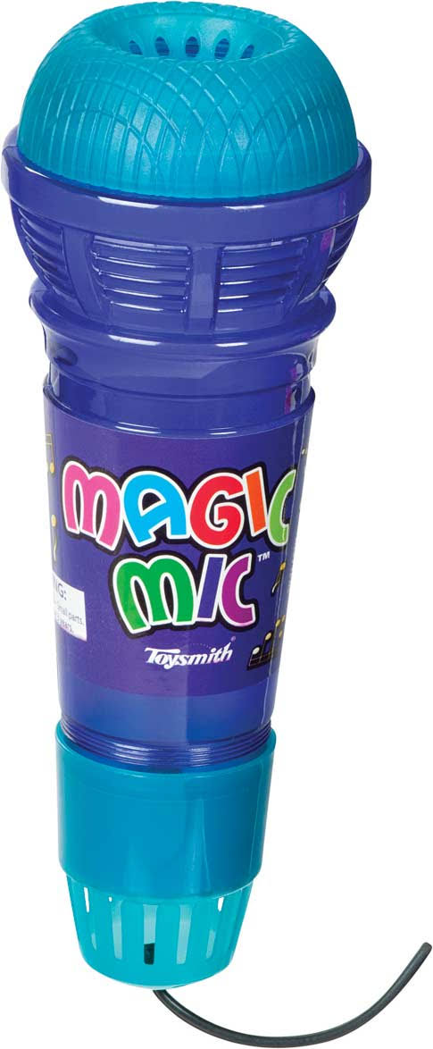 Toysmith Translucent Magic Mic - Colors May Vary