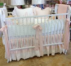 Bratt Decor Crib Skirt by Shabby Chic Crib Bedding Home Inspirations Design