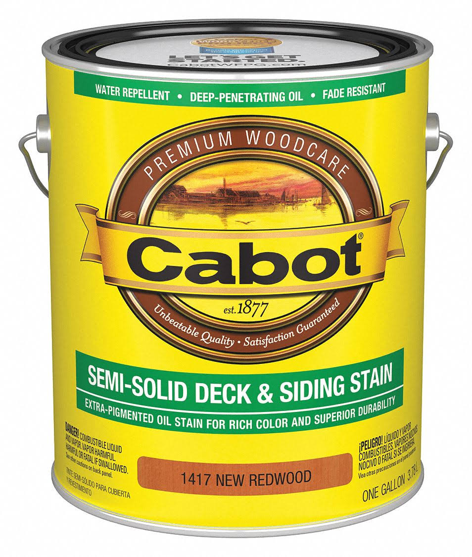 Cabot Decking Stain - 1417 New Redwood