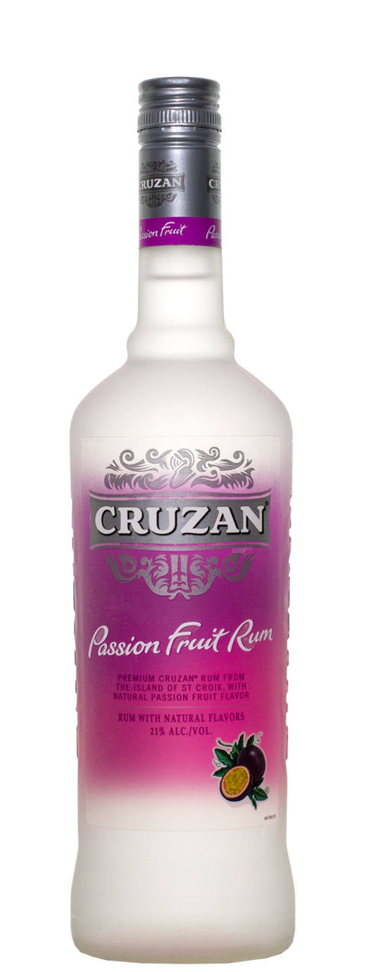 Cruzan Passion Fruit Rum - 750ml
