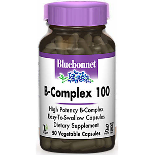 Bluebonnet B-Complex 100 Dietary Supplement - 250 Vcaps