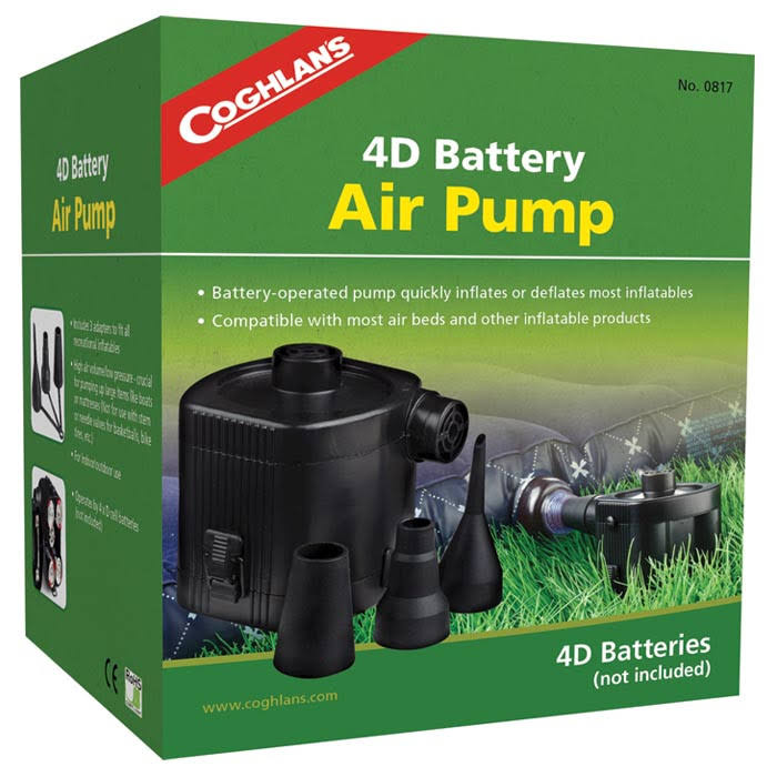 Coghlans - 4D Battery Air Pump