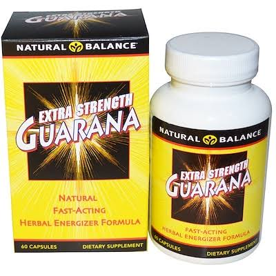 Natural Balance Extra Strength Guarana Diet Supplement - 60 Capsules