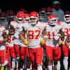 Chiefs overcome horrendous first quarter to lead Dolphins 14-10 at ...