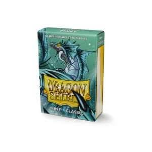Dragon Shield: Classic Mint Japanese Size Card Sleeves - 60ct