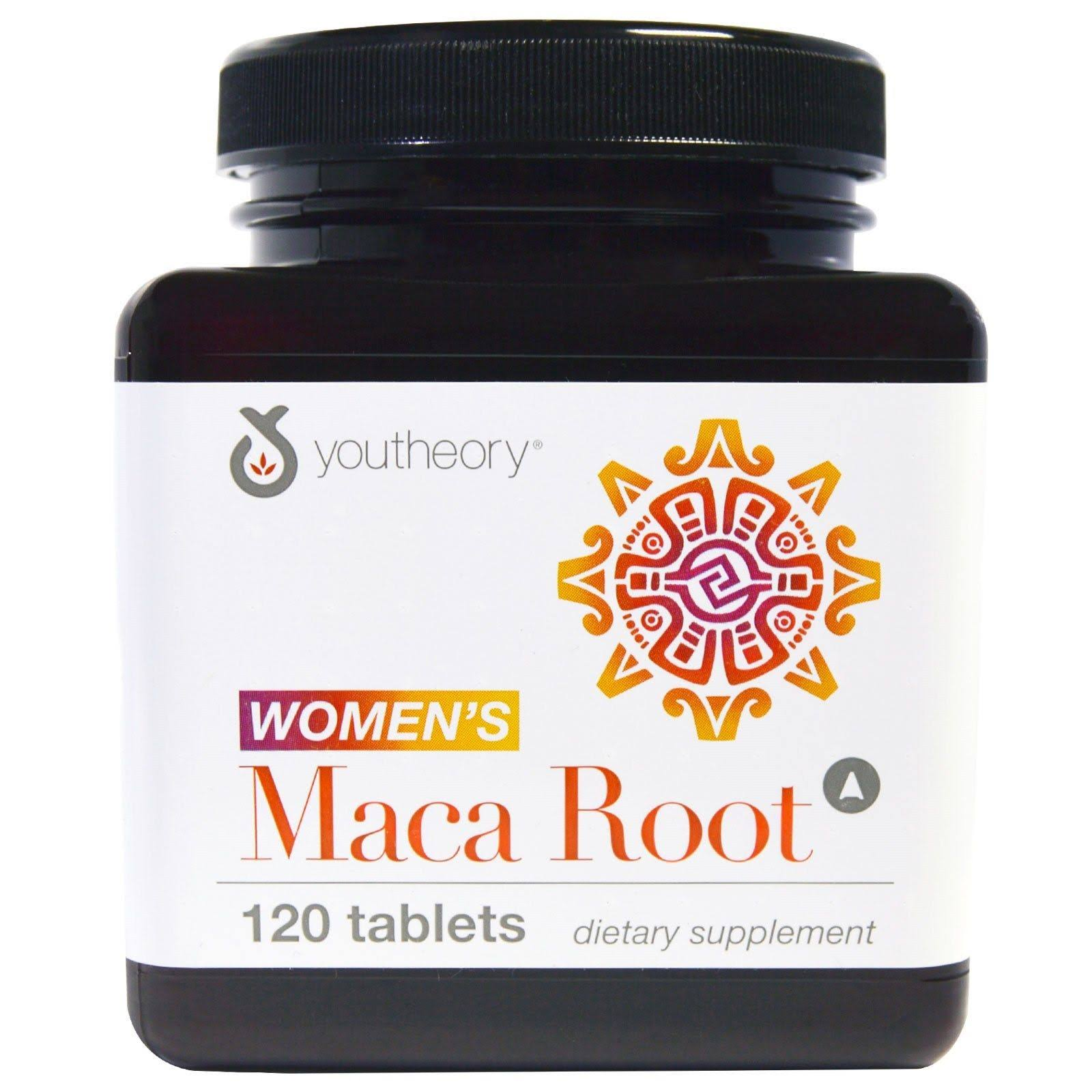 Youtheory Women's Maca Root - 120 Tablets