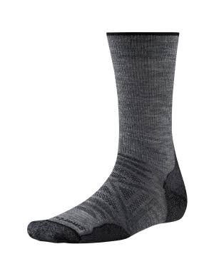 SmartWool PhD Outdoor Light Crew Sock - Medium Gray, X-Large