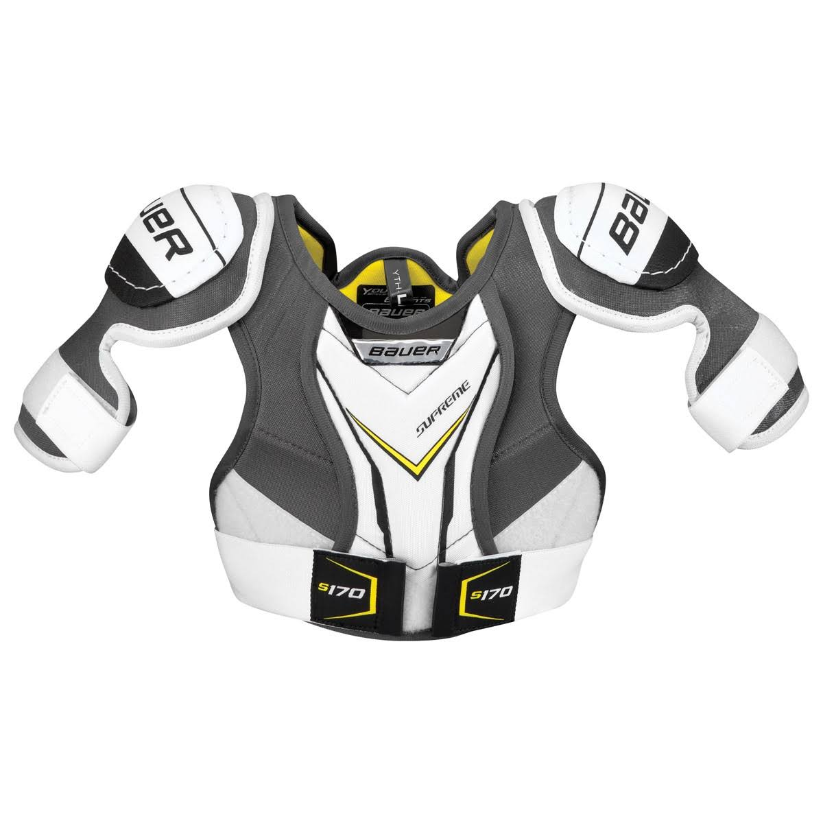 Bauer Youth Supreme S170 Ice Hockey Shoulder Pads - Large