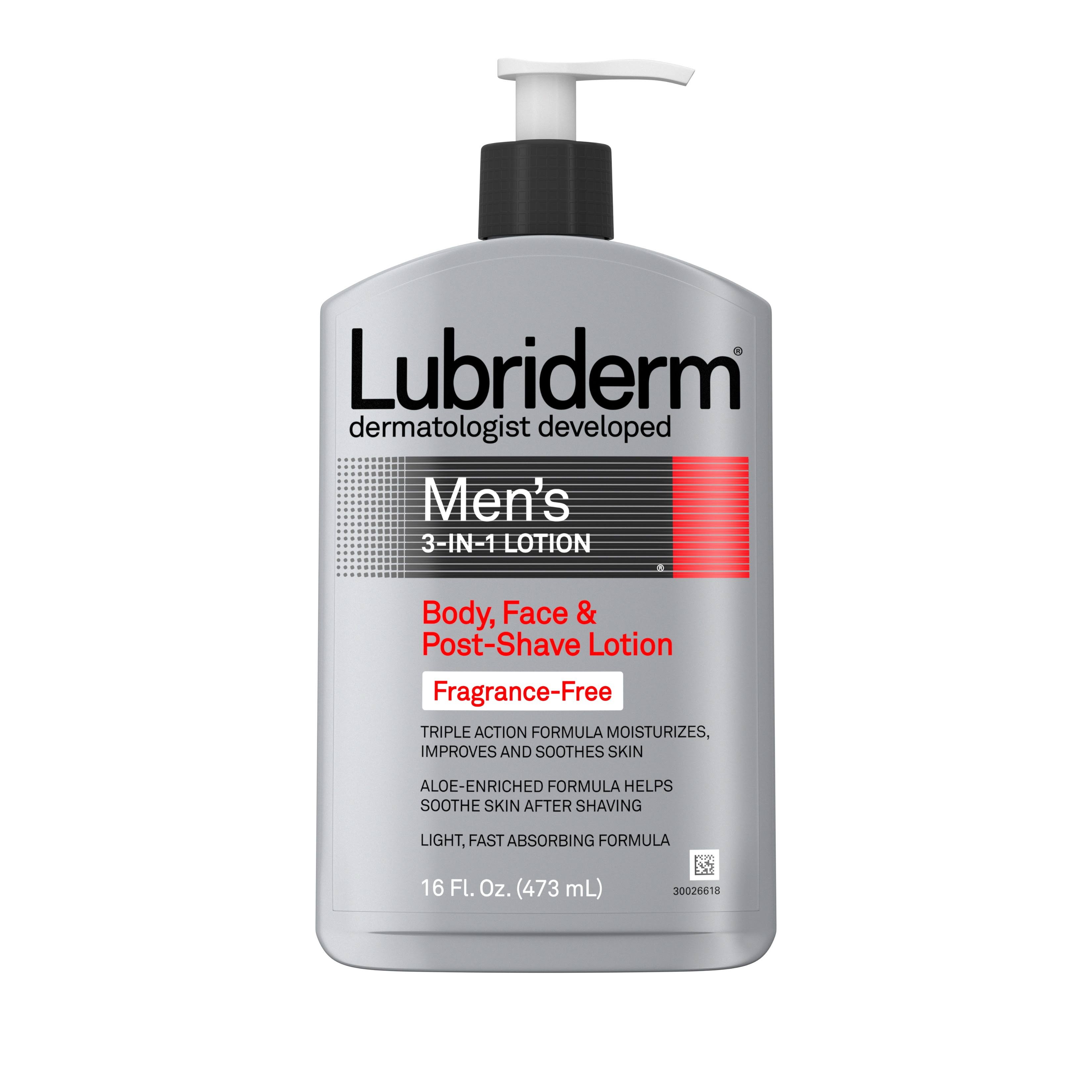 Lubriderm Men's 3 In 1 Lotion - 16oz